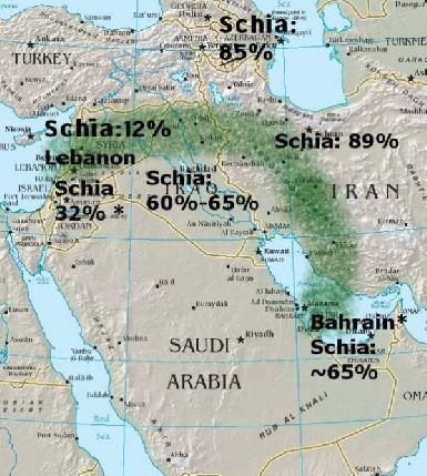 Image result for полумесяца «Иран — Ирак — Сирия — Ливан